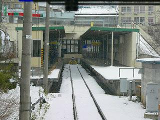 飯坂温泉駅 : 全国鉄道の頭端式...